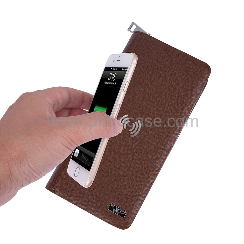Wireless Charger Wallet 4000mah 6000mah