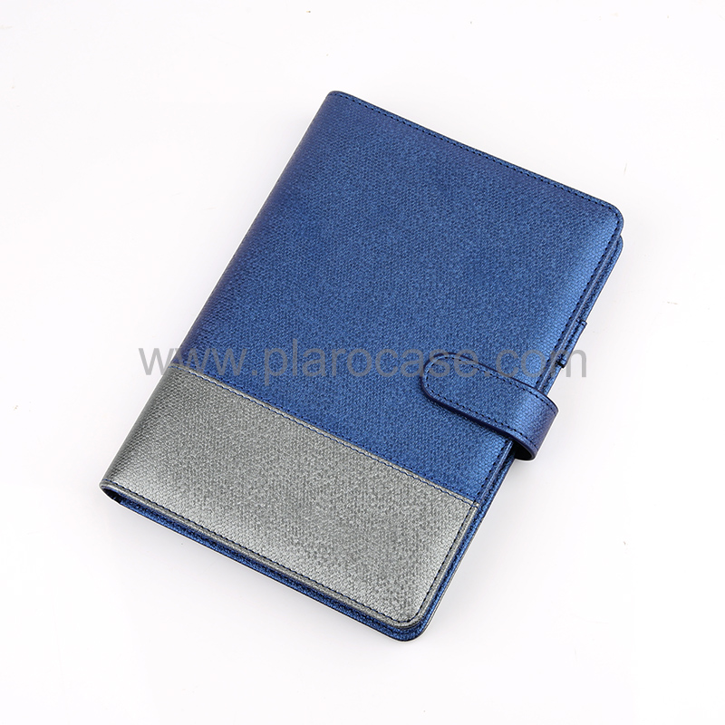 A5 Notebook with Magnetic Buckle and Card Holder