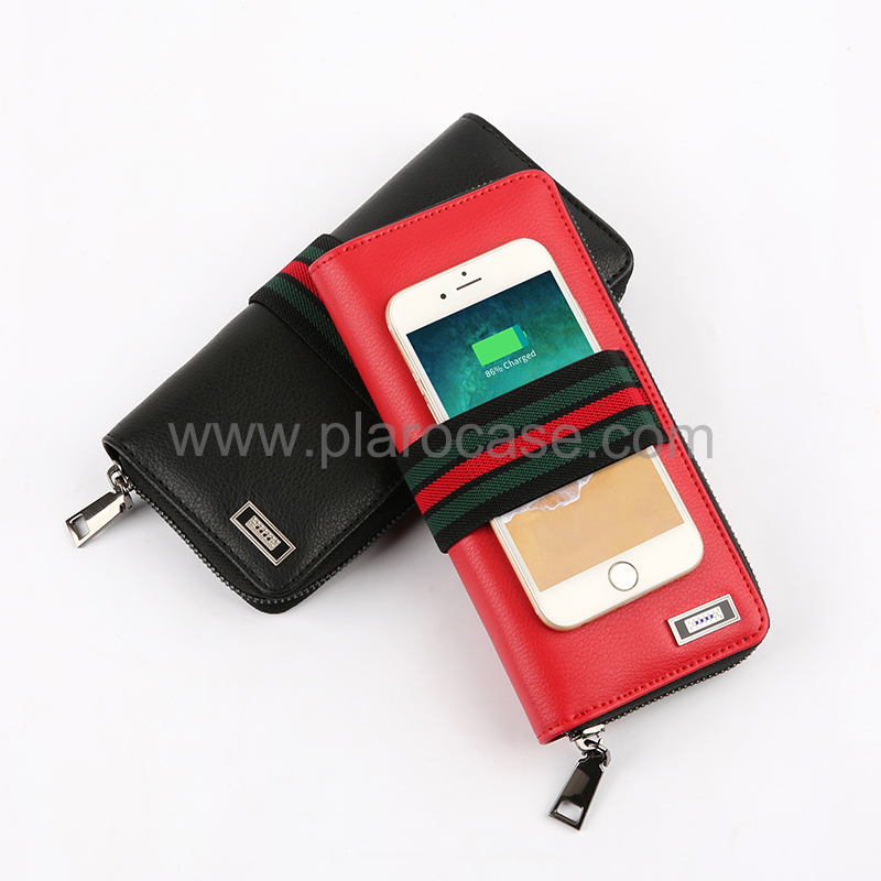 Wireless Charger Wallet with 5000mah