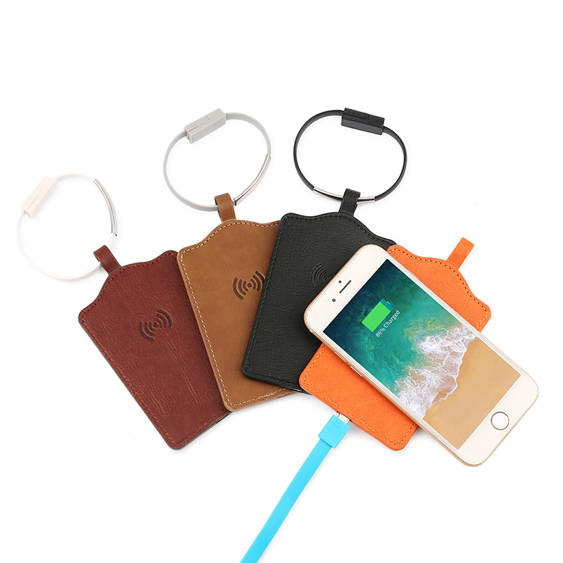 Wireless charger luggage tags
