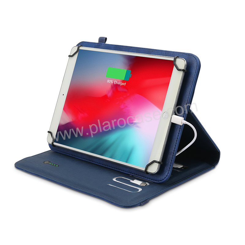 Cover Case with Power Bank for Ipad Tablet 10 inch
