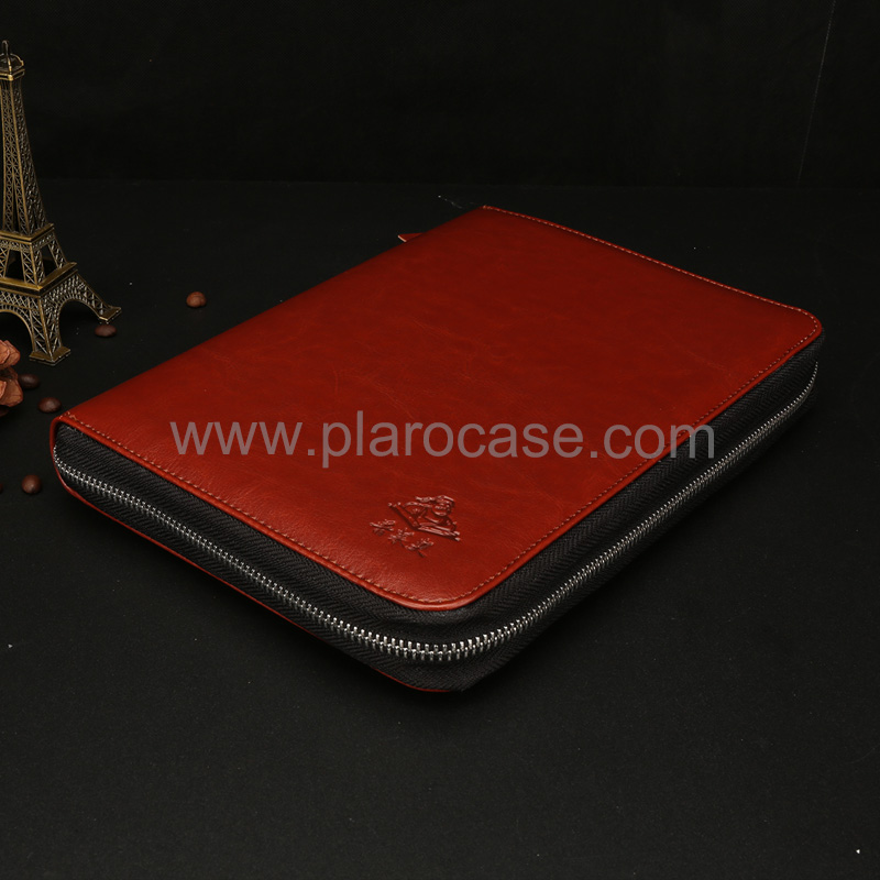 a5 power bank diary zipper lock with ipad mini holder 2