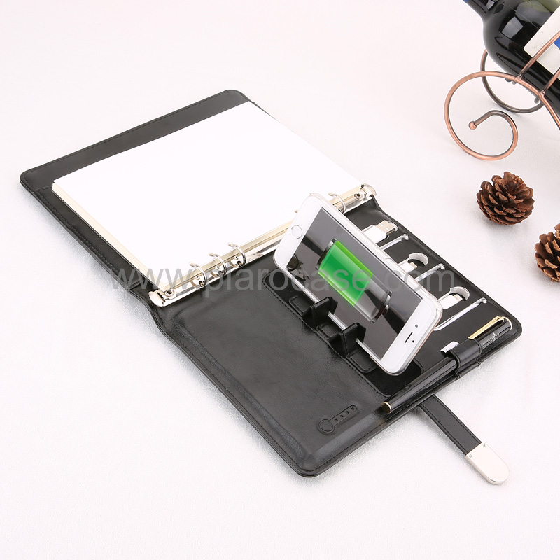 a5 power bank diary and usb and phone stand 7