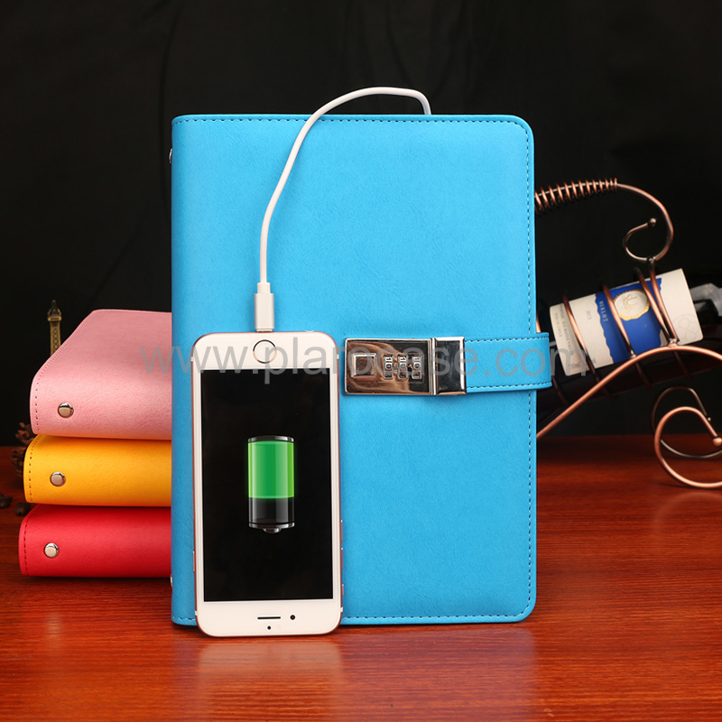 a5 power bank diary password lock 1