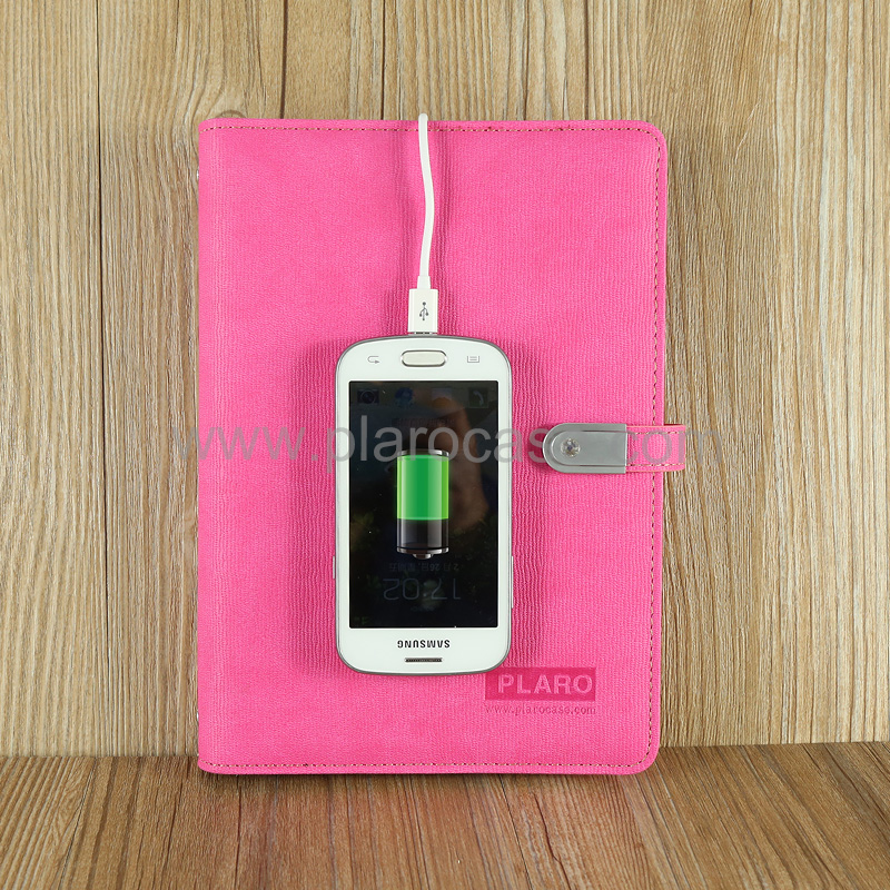 A5 Power Bank Notebook with USB Memory 2nd Generation