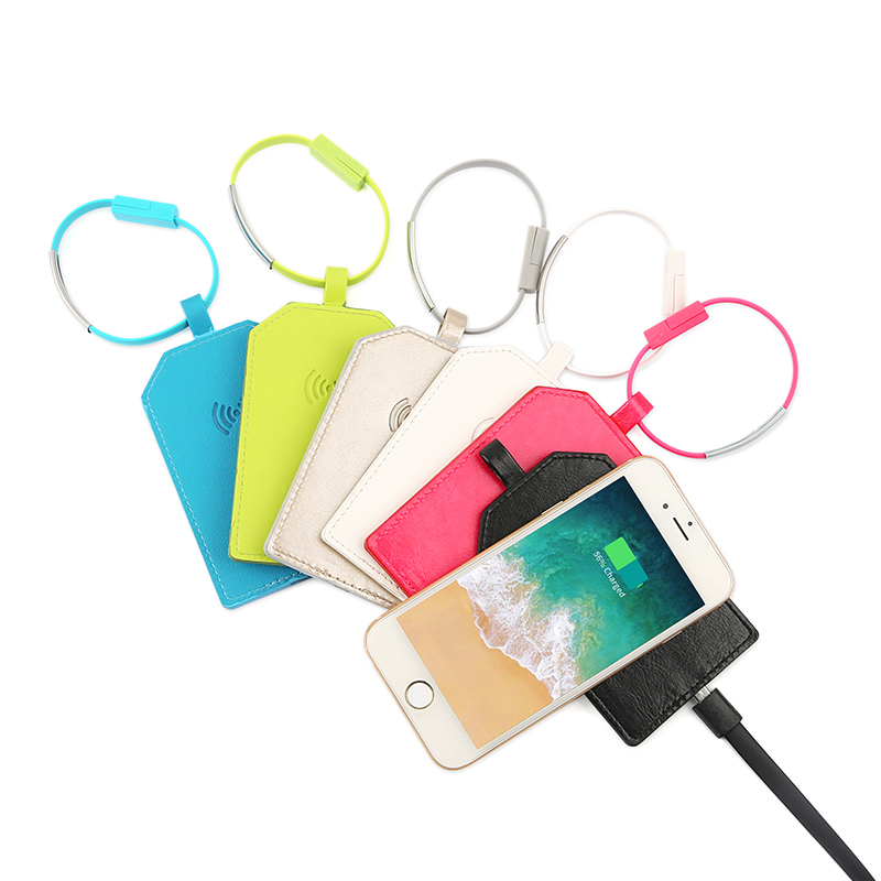 luggage tags with wireless charger