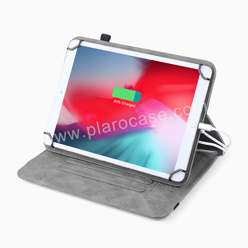 Cover Case with Power Bank for Ipad/Tablet 10 inch
