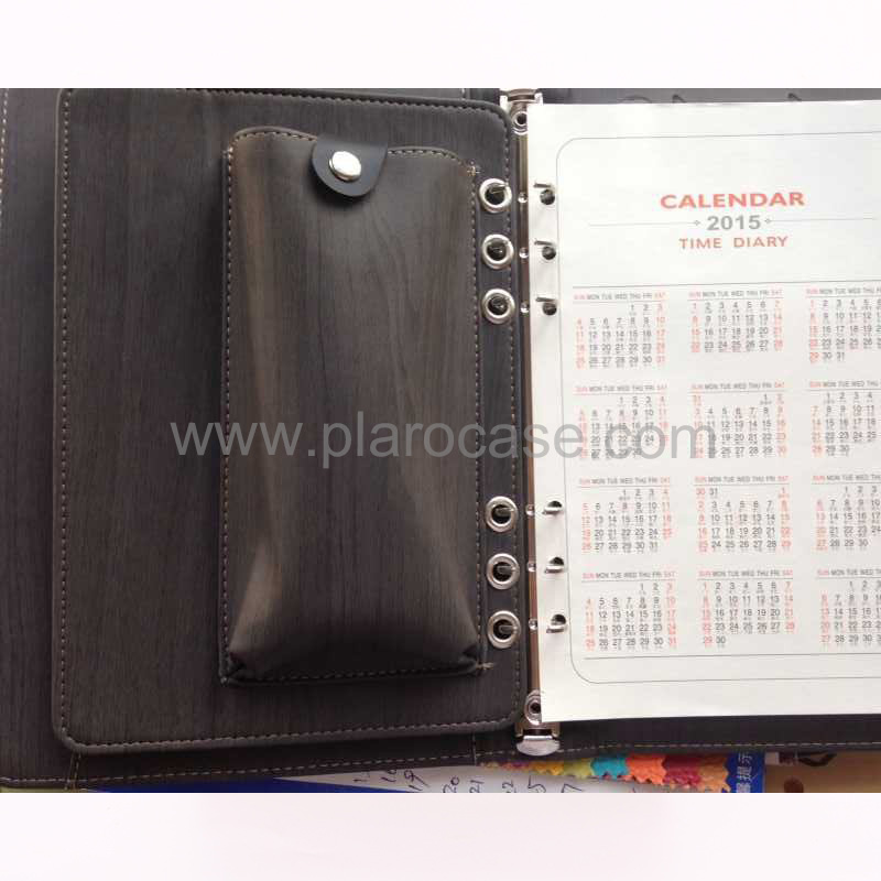 a5 power bank diary with ipad mini holder and phone case 5