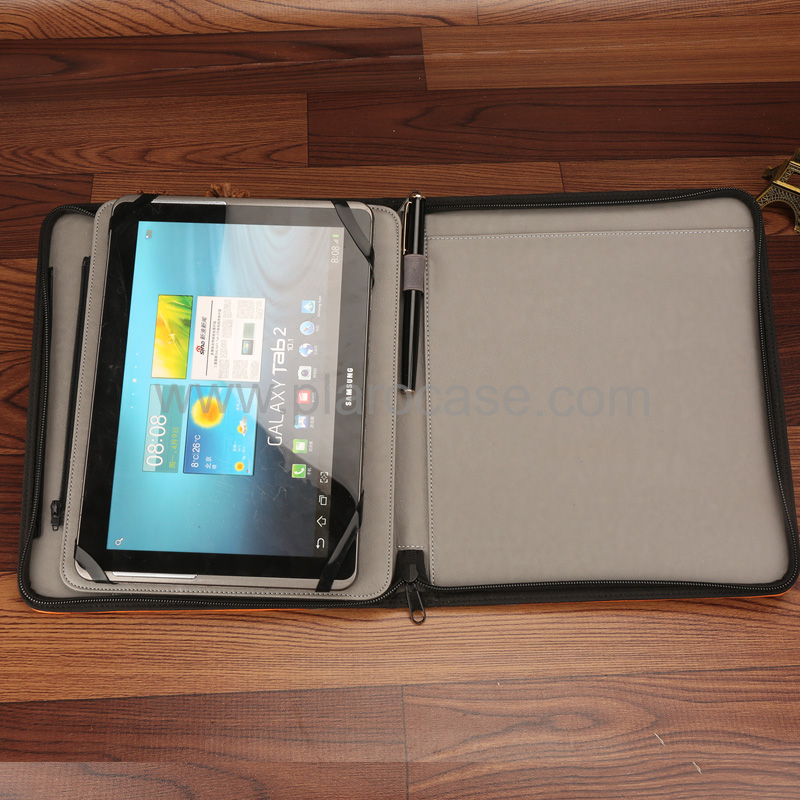 Portfolio with Detachable Cover Case for Ipad 3