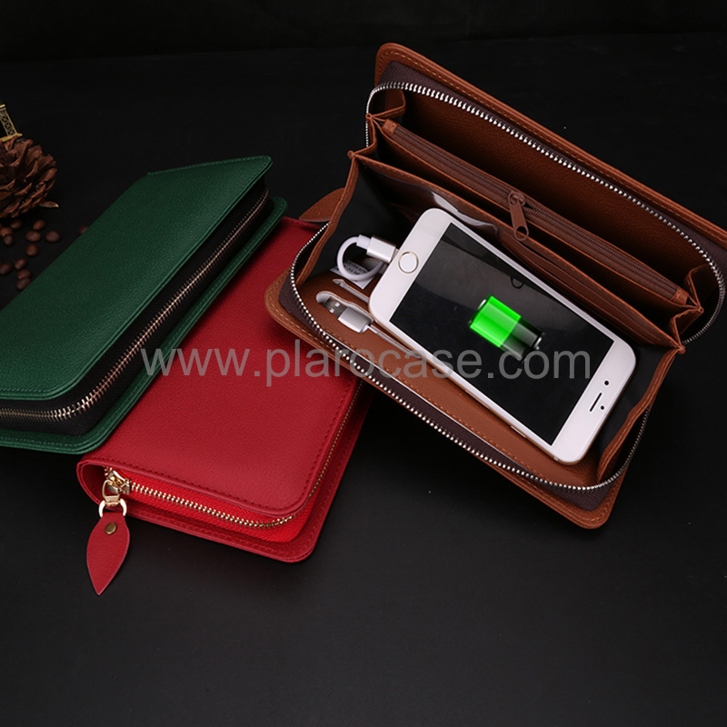Wallet with Power Bank